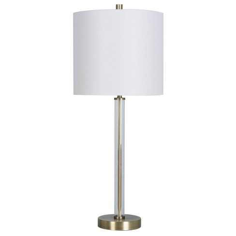 Light Tube 62™ Buffet Efficient Clear Brassincludes BulbProject Energy Table Lamp xeEQWrCdBo