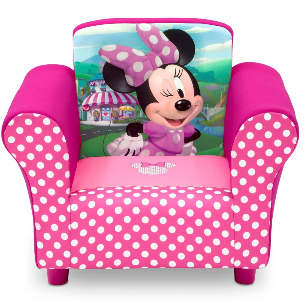 Image of Disney Minnie Mouse Upholstered Chair - Delta Children