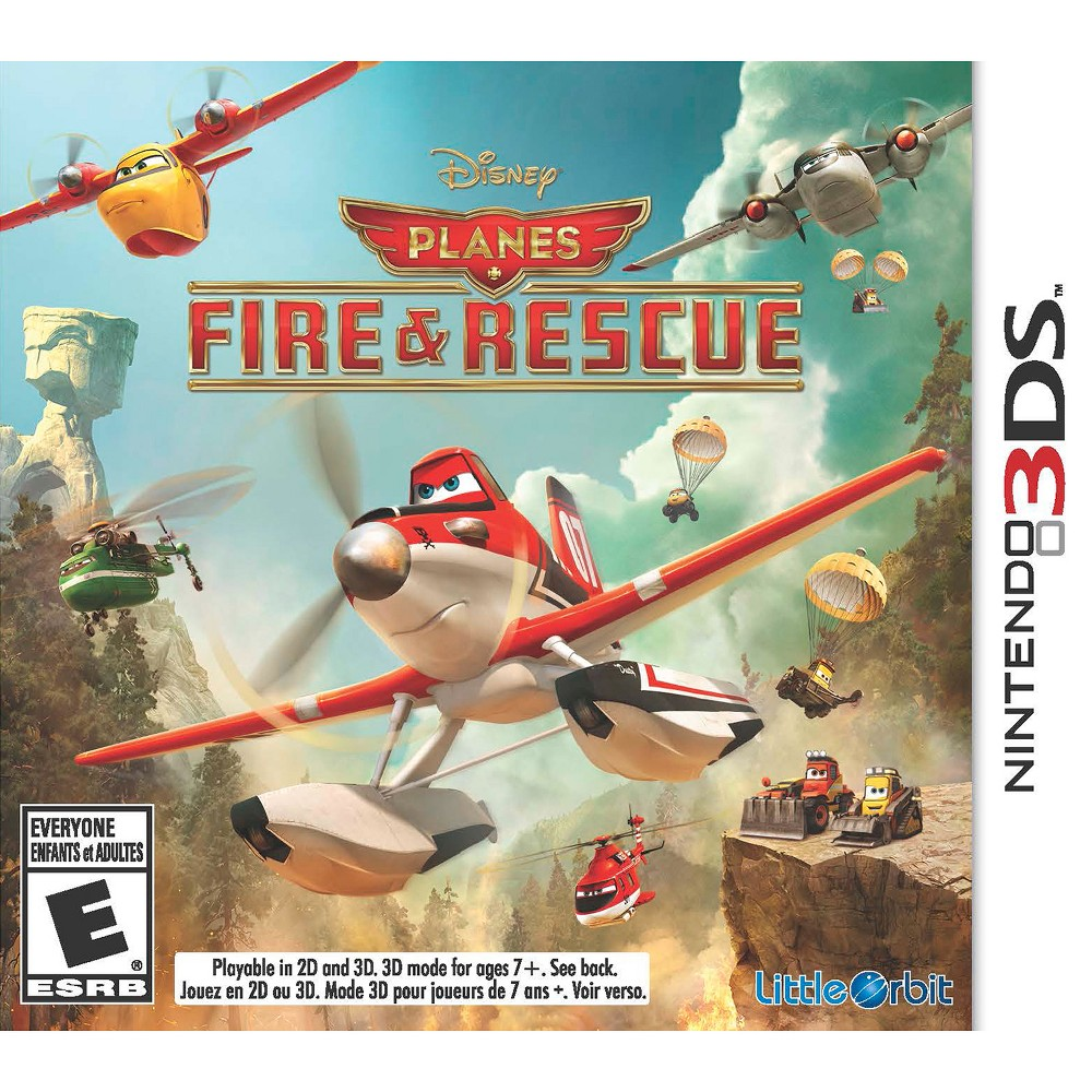 Planes: Fire & Rescue Pre-Owned Nintendo 3DS