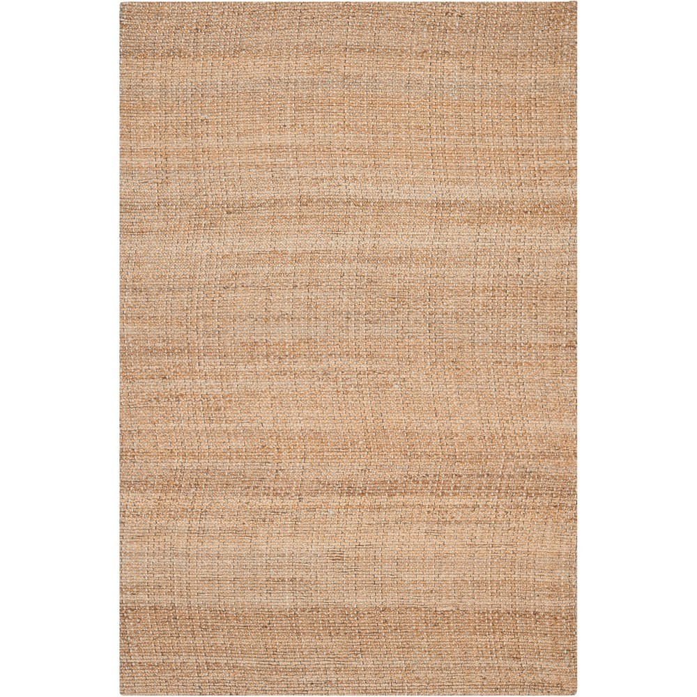 5'X8' Solid Woven Area Rug Light Blue/Natural - Safavieh