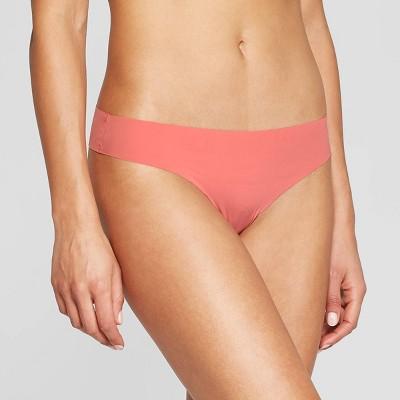 Women's Laser Cut Thong - Auden™ Faded Rose XL