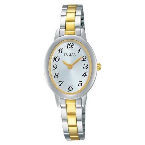 Women's Pulsar Everyday Value - Two Tone with Silver Dial - PRW031X - image 1 of 1