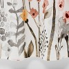 Floral Wave Shower Curtain White - Threshold™ - image 4 of 4