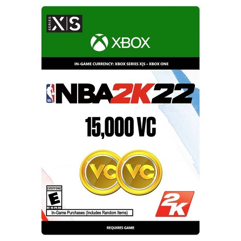 NBA 2K22 Virtual Currency - Xbox Series X S/Xbox One (Digital) - image 1 of 4
