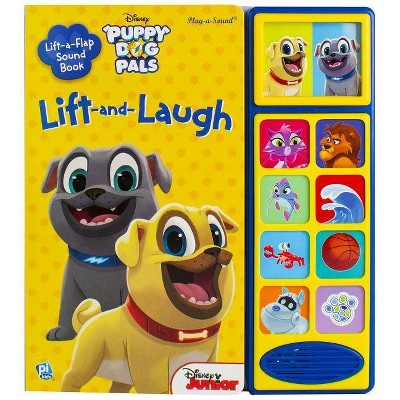 Disney Puppy Dog Pals - Lift a Flap Sound Book : Lift and Laugh (Hardcover)