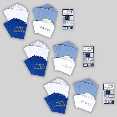 Hanukkah Note Cards & Stickers - Bullseye's Playground™ - image 1 of 4