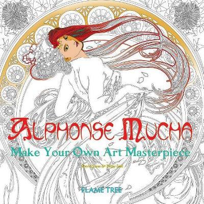 - Alphonse Mucha (Art Colouring Book) - (Colouring Books) (Paperback) : Target