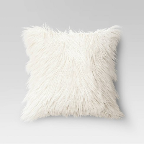 Faux Fur Throw Pillow - Opalhouse™ - image 1 of 4
