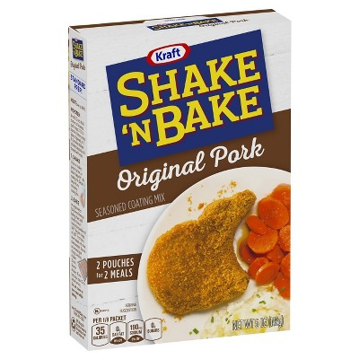 Kraft Shake N' Bake Pork - 5oz