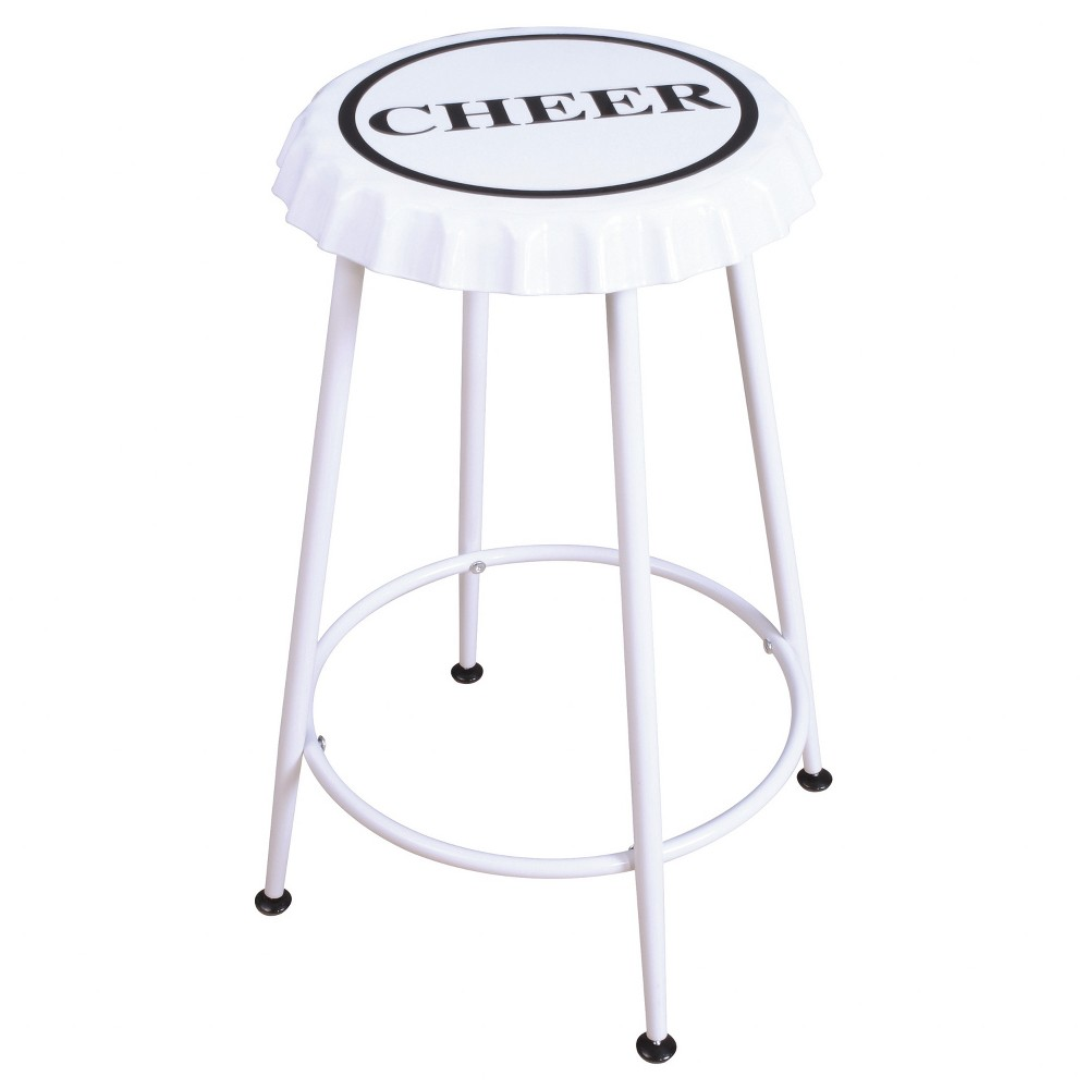 Image of 24CounterStool White - Acme Furniture