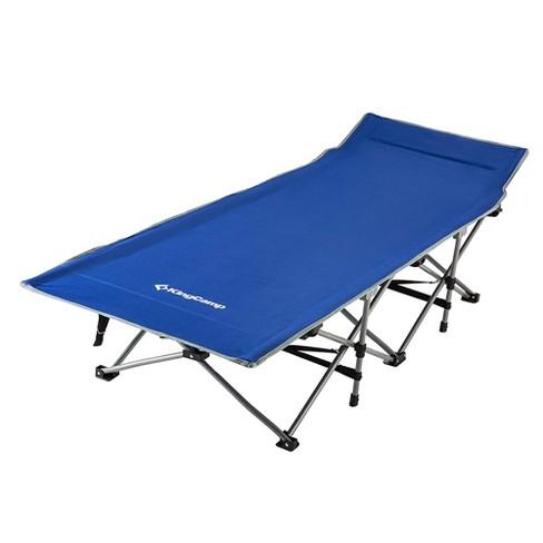 1 MEN FOLDING BED PORTABLE GARDEN CAMPING BEACH BED GUEST W// MATTRESS HEAVY DUTY