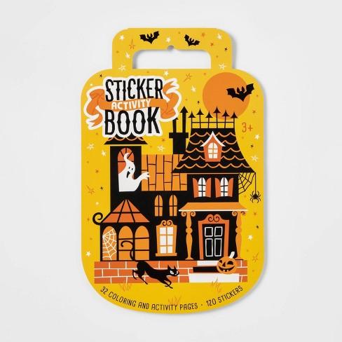 Spooky Sticker Book Halloween Activity - Hyde & EEK! Boutique™ - image 1 of 2