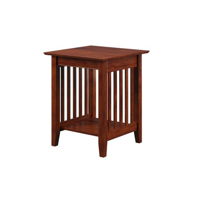 Printer Stand Classic Mission Walnut - Atlantic Furniture
