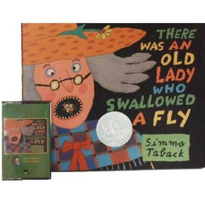There Was an Old Lady Who Swallowed a Fly - by Simms Taback (Hardcover)