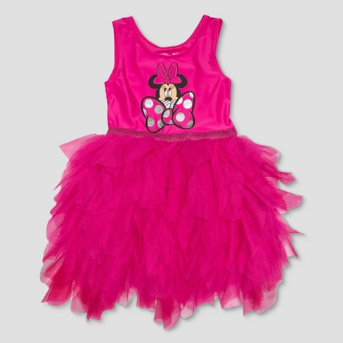 ce09d3d3949 Toddler Girls  Mickey   Friends Minnie Mouse Bow Tutu Dress - Pink ...