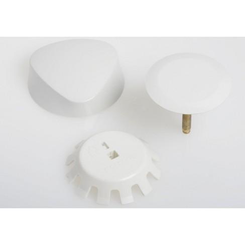 Geberit 151.550 TurnControl Overflow Drain Trim Kit with Plastic Handle - image 1 of 1