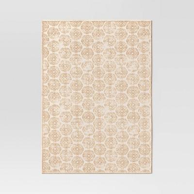 Cotton Medallion Print Placemat Beige - Threshold™
