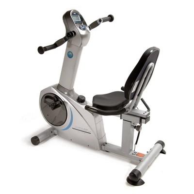 Stamina Elite Total Body Recumbent Exercise Bike - Gray