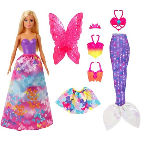 Barbie Dreamtopia Dress Up Blonde Doll Giftset - image 1 of 4