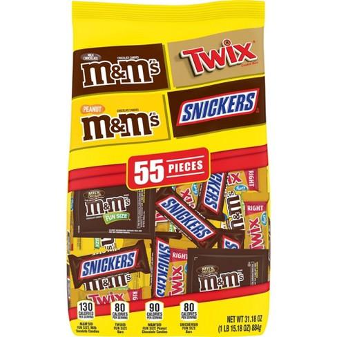 Mars Fun Size Chocolate Favorites Variety Pack - 31.18oz - image 1 of 4