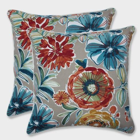 """18.5"""" 2pk Colsen Sonoma Throw Pillows Beige - Pillow Perfect - image 1 of 1"""