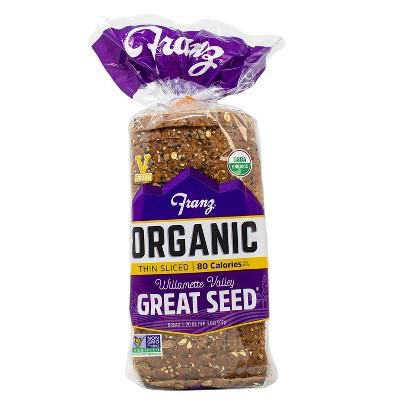 Franz Organic Great Seed Thin Sliced Bread - 20oz
