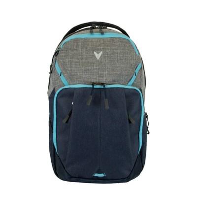 "Bondka Sport 19"" Blaze 2.0 Backpack - Mint/Heather Gray/Heather Blue"