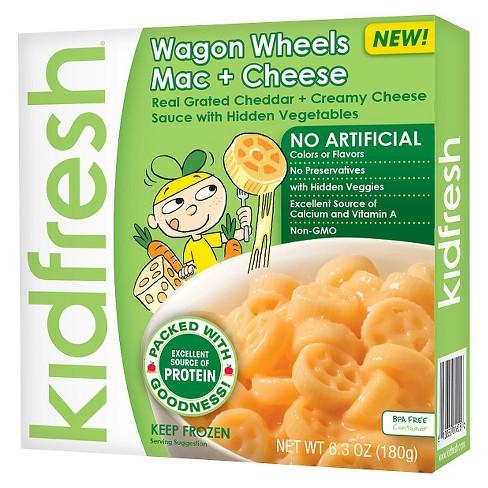 Kidfresh Wagon Wheels Mac & Cheese - 6.3oz : Target
