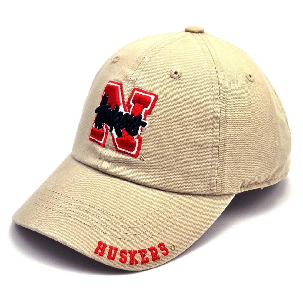 NCAA Nebraska Cornhuskers Frater Adjustable Baseball Hat, Men's