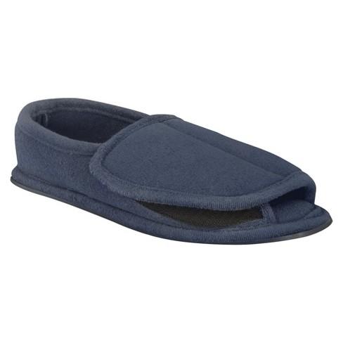 65f4db9484ed Men s MUK LUKS® Adjustable Open Toe Slippers   Target