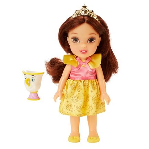 Disney Princess Petite Belle Doll & Chip - image 1 of 4