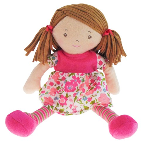 "Bonikka Rag Doll - Dames Collection - Lil' Fran - Light Brown Hair - 10"" - image 1 of 2"