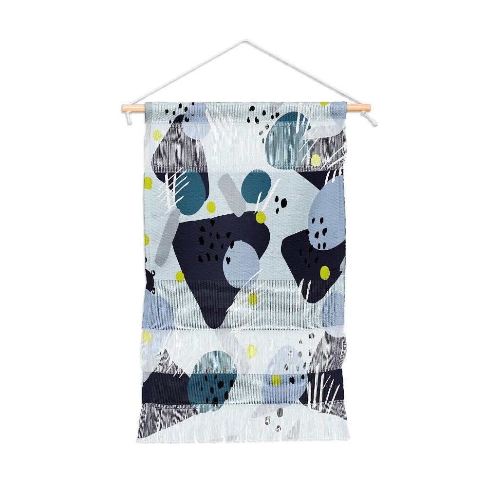 "Image of ""11""""x15.5"""" Mareike Boehmer Playground Diversity Wall Hanging Portrait Blue - Deny Designs"""