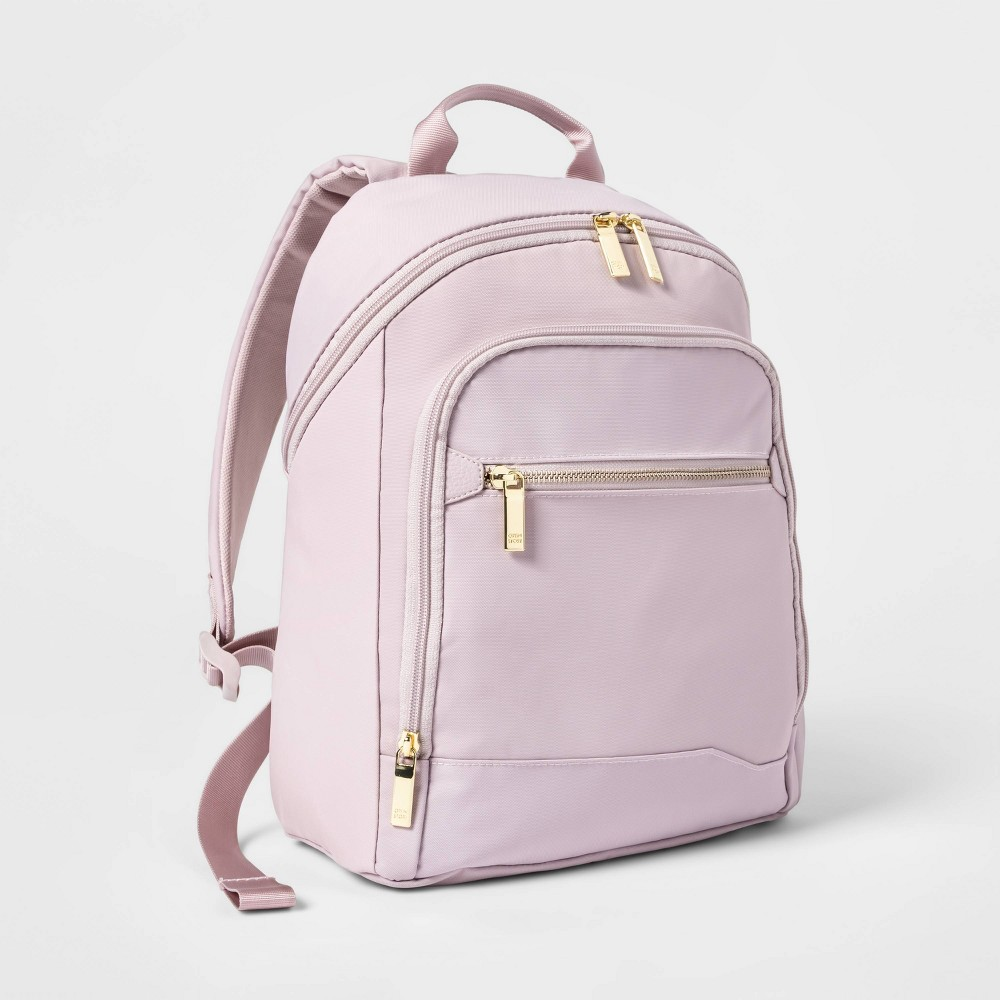 Image of City Mini Backpack Violet Ice - Open Story , Purple White