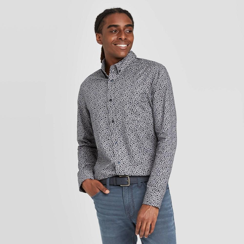 Cheap en's Sli Fit Long Sleeve  Poplin Button-Down Shirt - Goodfellow & Co™