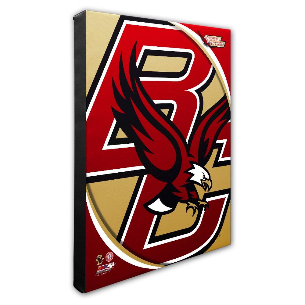 Boston College Eagles Logo Canvas Wall Art - 16x20 inches
