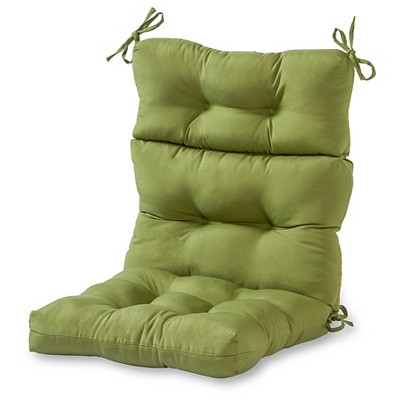 Solid Outdoor High Back Chair Cushion - Kensington Garden