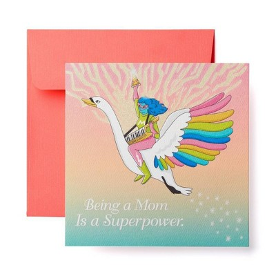 Humorous Superpower Mothers Day Card