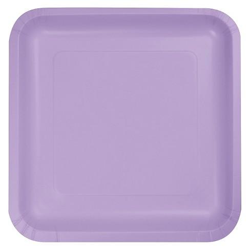 "Luscious Lavender 7"" Dessert Plates - 18ct - image 1 of 3"