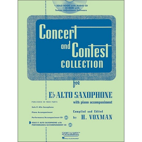 Hal Leonard Rubank Concert And Contest Collection Alto Sax Book/Online Audio - image 1 of 1
