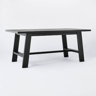 "72"" Linden Rectangular Wood Dining Table - Threshold™ designed with Studio McGee"
