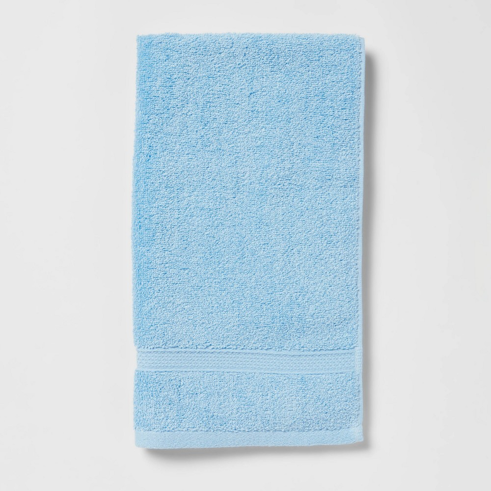Perfectly Soft Solid Hand Towel Light Blue Opalhouse 8482