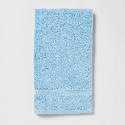 Perfectly Soft Solid Hand Towel Light Blue Opalhouse Target