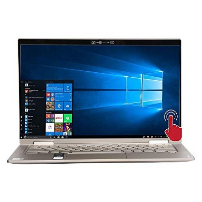 """Lenovo - Yoga C740 2-in-1 14"""" Touch-Screen Laptop - Intel Core i5 - 8GB Memory - 256GB Solid State Drive - Mica"""
