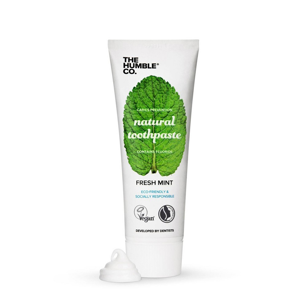 Image of The Humble Co. Fresh mint Toothpaste - 3.4oz
