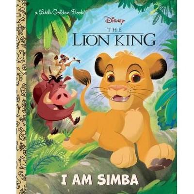 I Am Simba (Disney the Lion King) - (Little Golden Book) by  John Sazaklis (Hardcover)