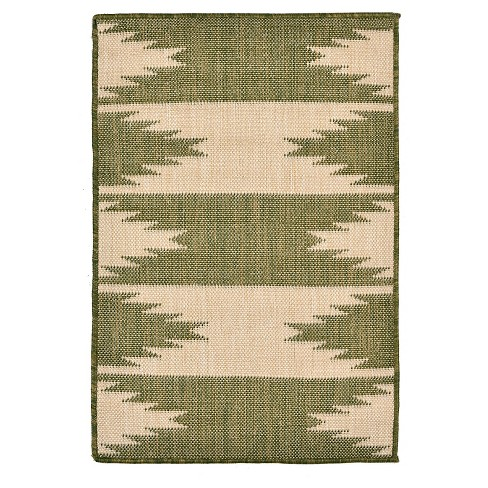 Terrace Taos Green Rug - Liora Manne - image 1 of 1