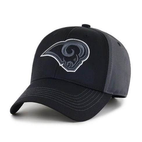 4445c0b5 NFL Los Angeles Rams Blackball Adjustable Cap/Hat by Fan Favorite
