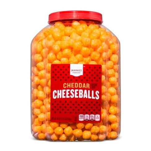 Cheddar Cheese Balls - 20oz - Market Pantry™ - image 1 of 2