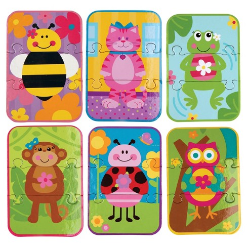 Stephen Joseph Mix And Match Puzzle - Girl 18pc - image 1 of 2